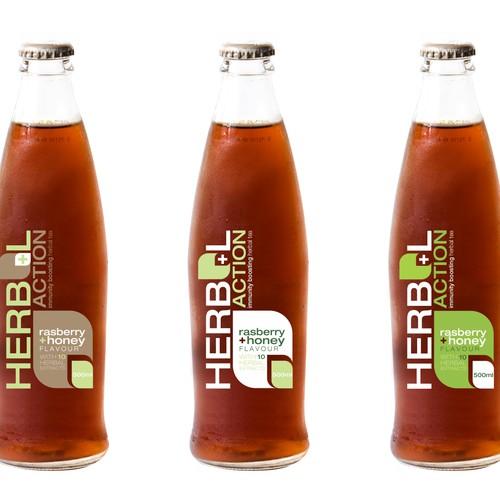 Bottle Label design