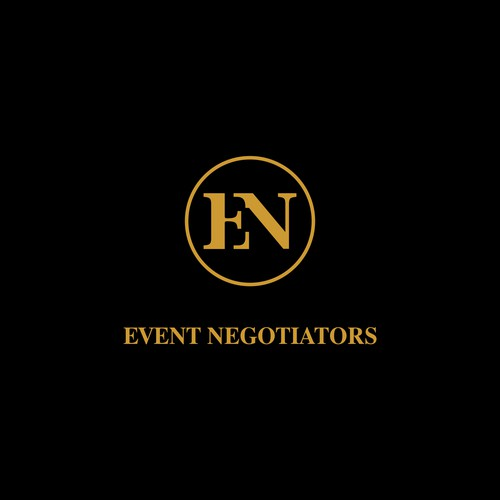 Monogram logo for event negotiators