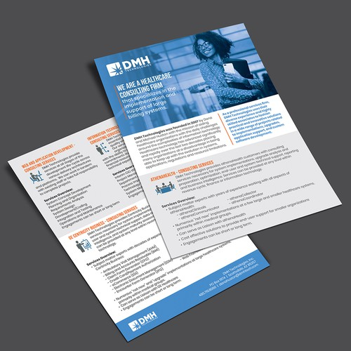 Healthcare Consulting 1-Page Brief