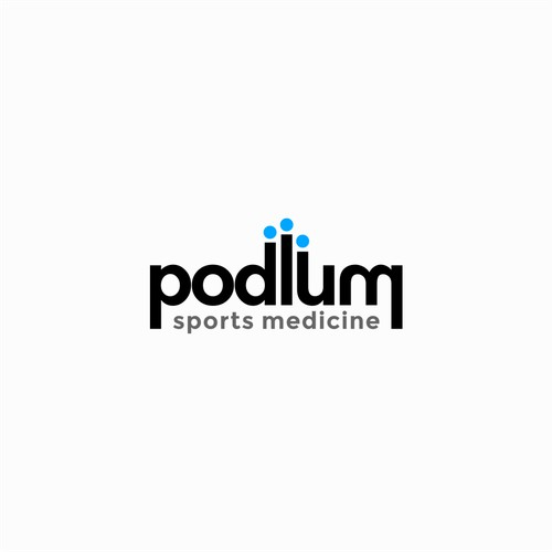Logo design for Podium