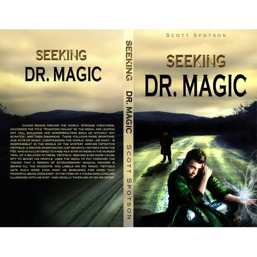 book or magazine cover for Scott Spotson