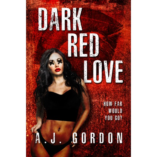 'Dark Red Love' book cover