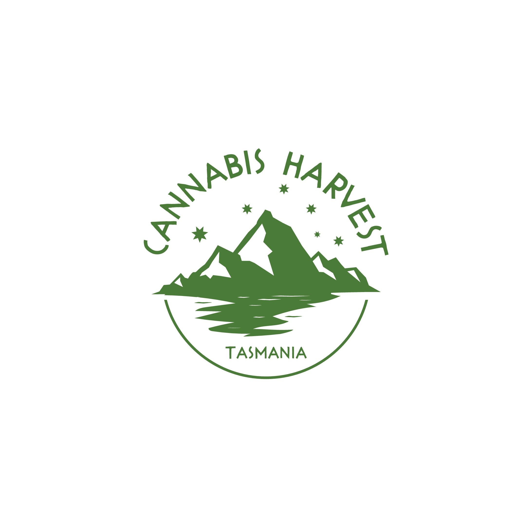 Clean & Fresh logo for Tasmanian Hemp Food Brand