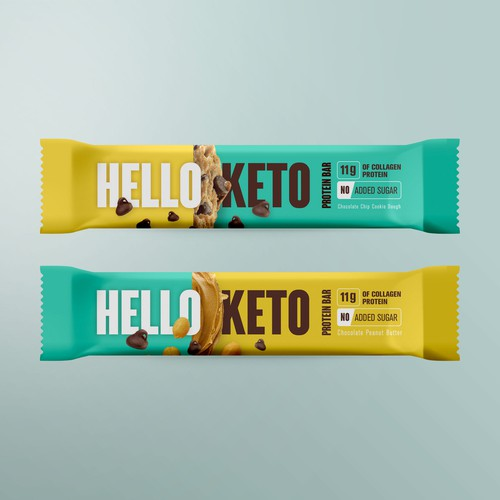 Hello Keto Protein Bar