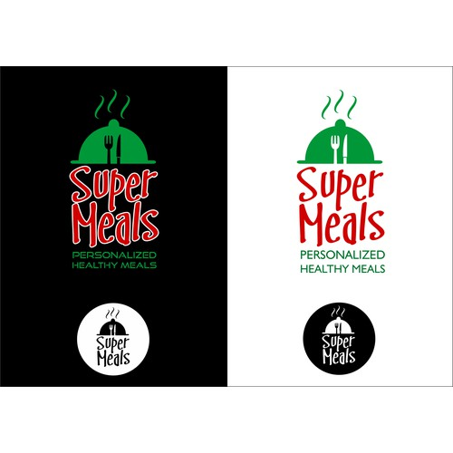 bold branding for a meal delivery company