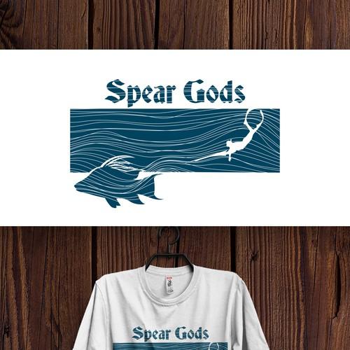 T-shirt design for Spear Gods