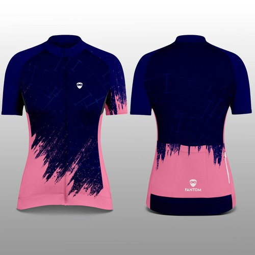 Fantom Woman Cycling Jersey