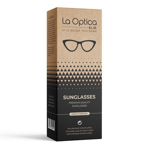Sunglasses packaging design