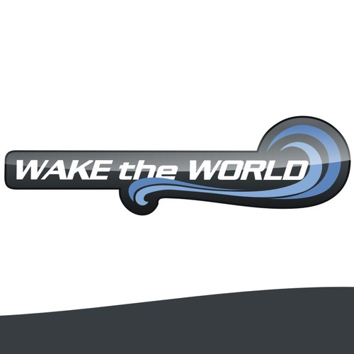 Wake the World Logo - Watersports Event