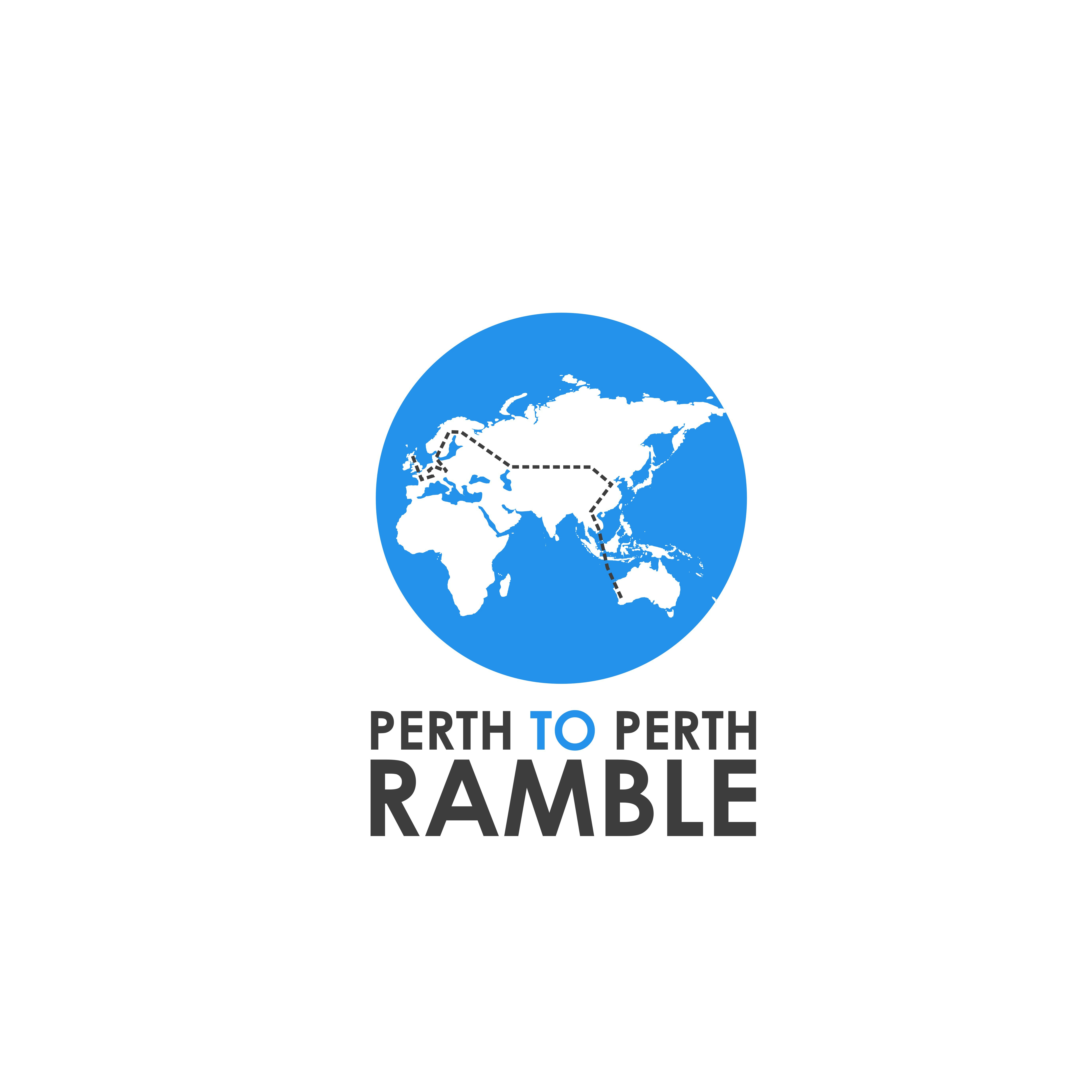Perth to Perth Ramble needs a logo to show around the world
