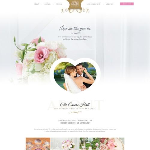 Design for a Wedding Venue