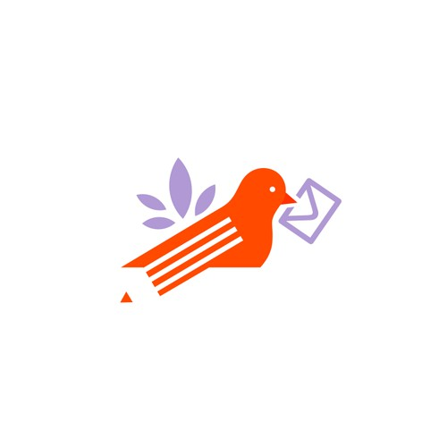 The Pigeon Letters Logo - Personal brand offering art tutorials and creative resources