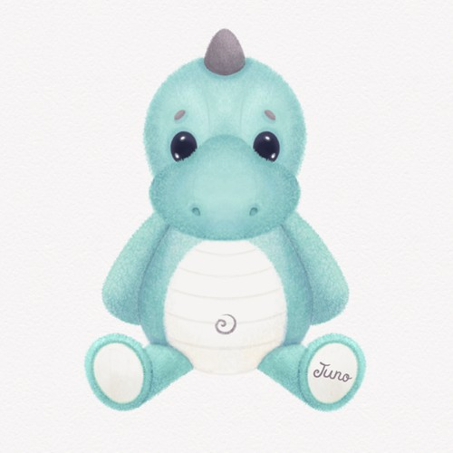 Dino Plush Toy Design