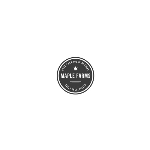 Maple Farms - Logo design