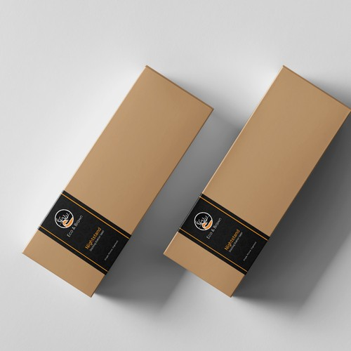 Custom package sleeve to appeal to the stylish modern man
