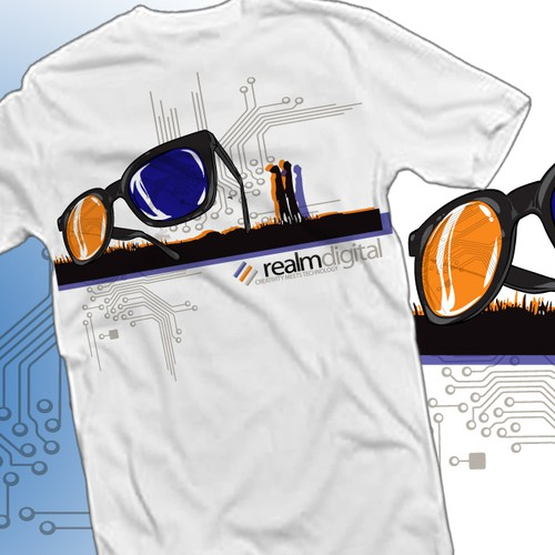 Help Realmdigital with a new t-shirt design