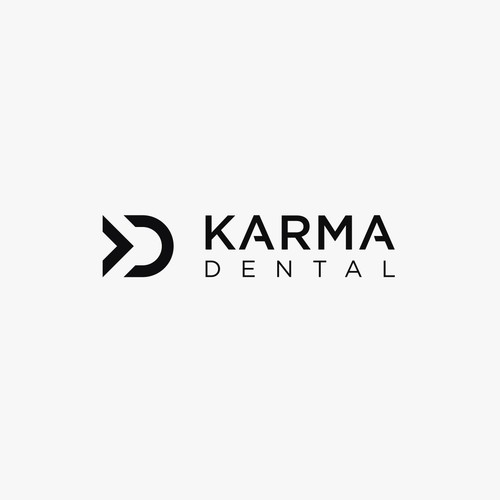 Karma Dental logo concept