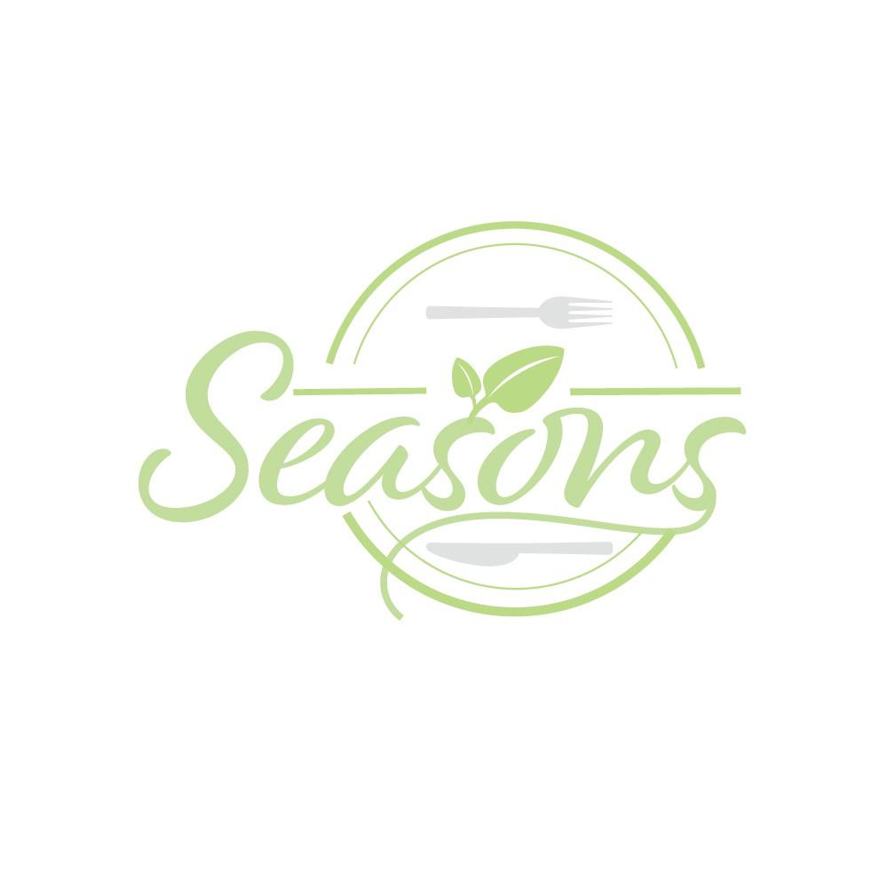 Simple logo for new Seasons Restaurant