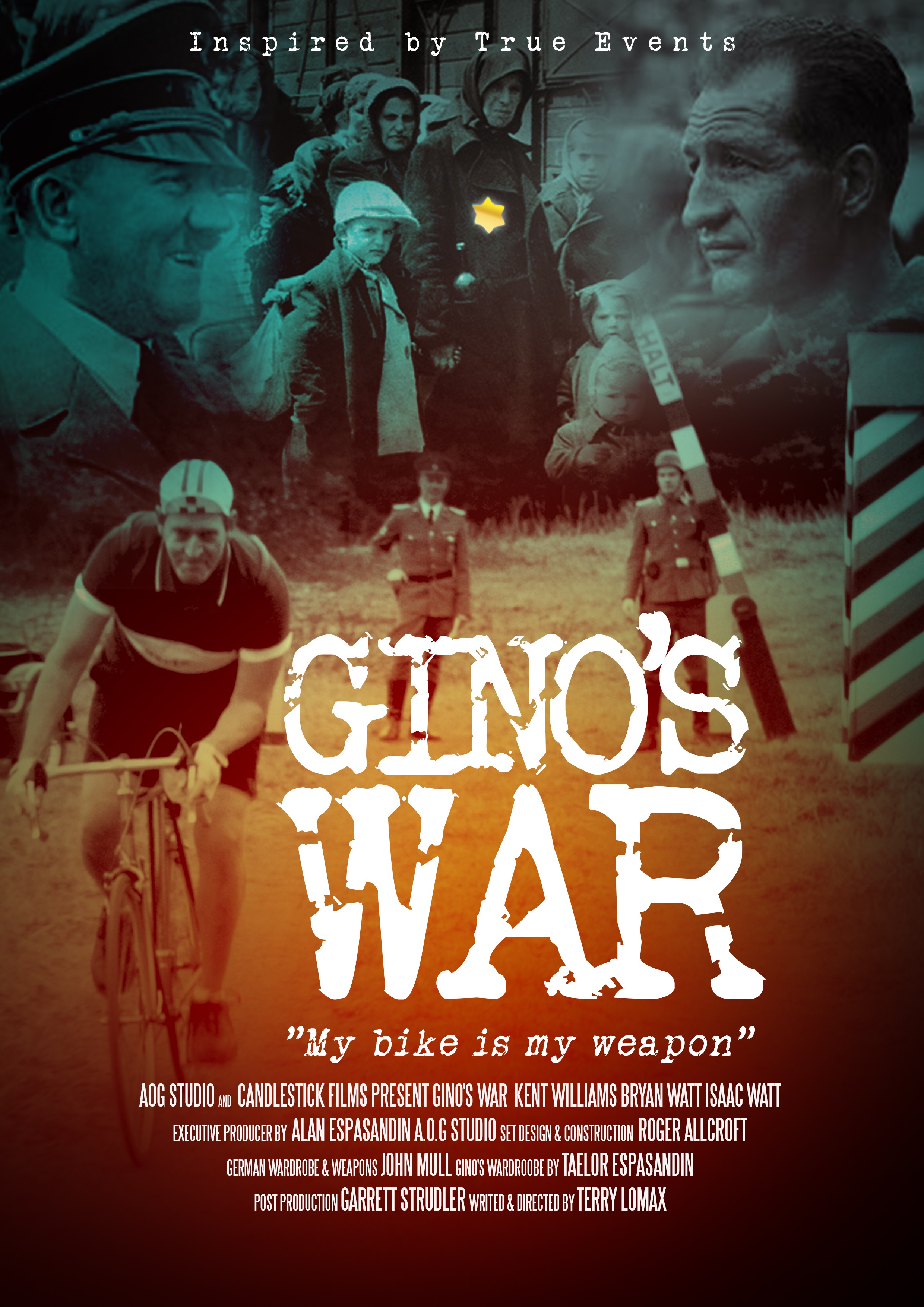 Movie Poster, WWII, True Story