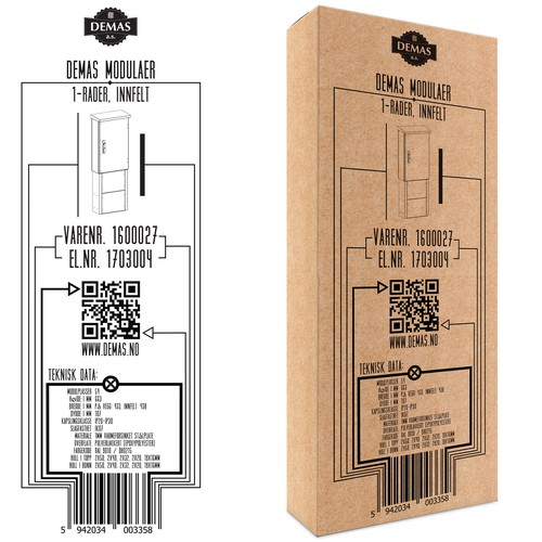 Smart packaging design for simple product