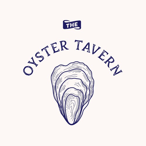 Logo Design Oyster Concept