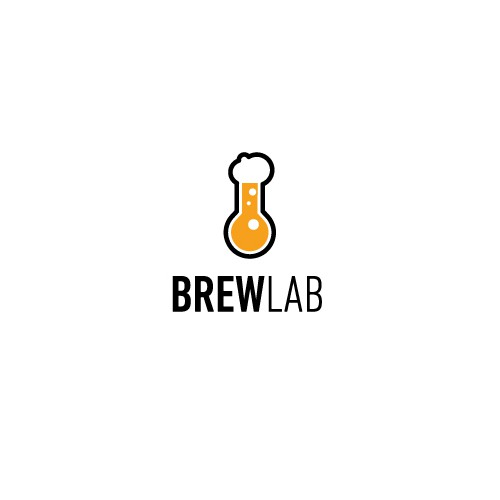 Logo Design Concept For BrewLab