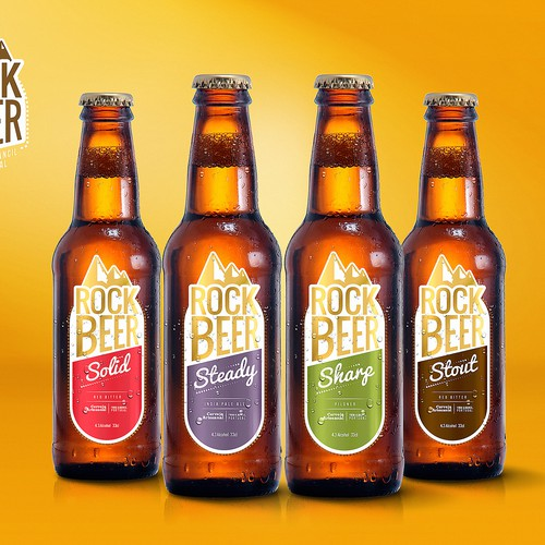 Create compelling label and logo for new Portuguese craft brewery