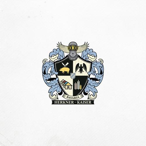 """""""Herkner - Kaiser"""" Coat of Arms"""