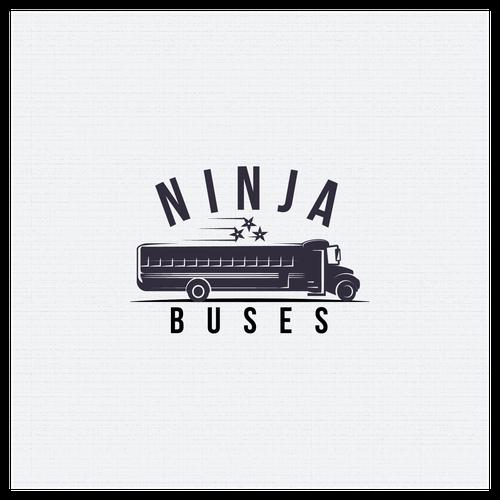 Logo for Ninja Buses