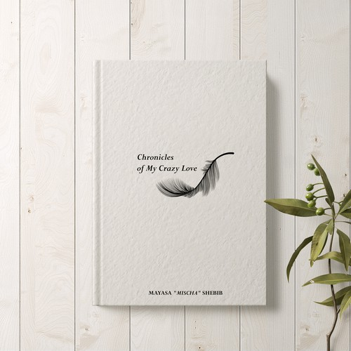 Cover book for a collection of poetry