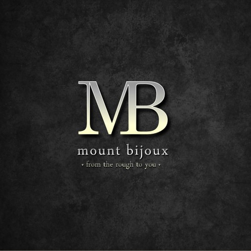 logo for Mount Bijou or Mount Bijoux