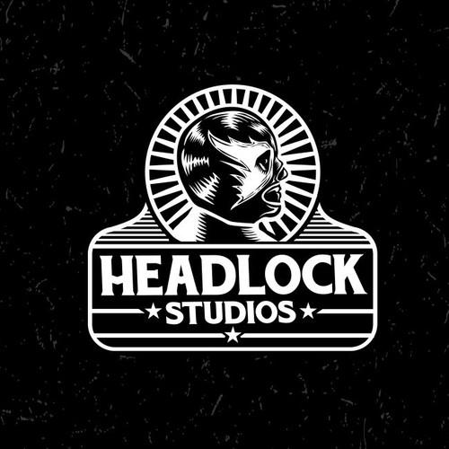 Vintage photo studio logo