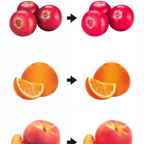 2 color fruit image