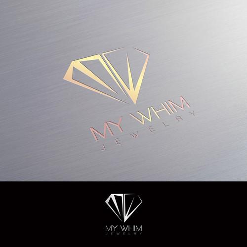My Whim jewelry logo