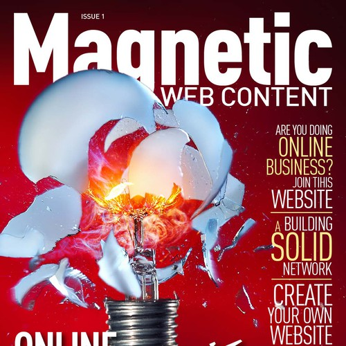 magazine cover for Magnetic Web Content