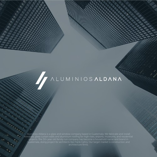 logo concept for industrial company