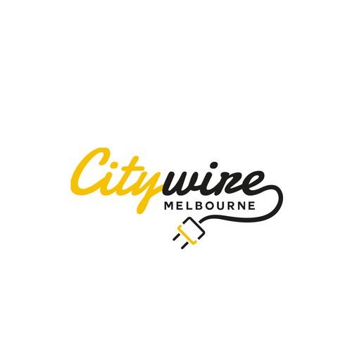 Logo pour un électricien de Melbourne