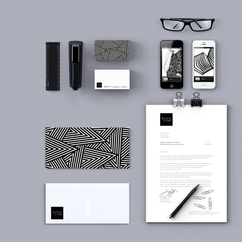 Fashion accessories brand identity