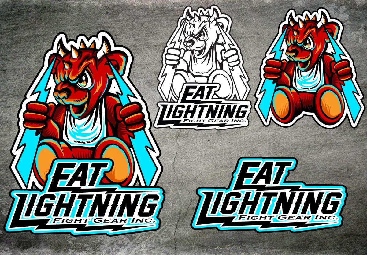 New logo wanted for Eat Lightning Fight Gear Inc.