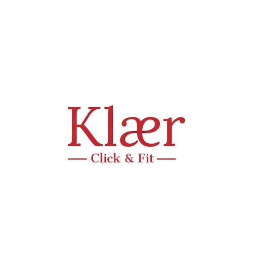Elegant logo design for Klaer