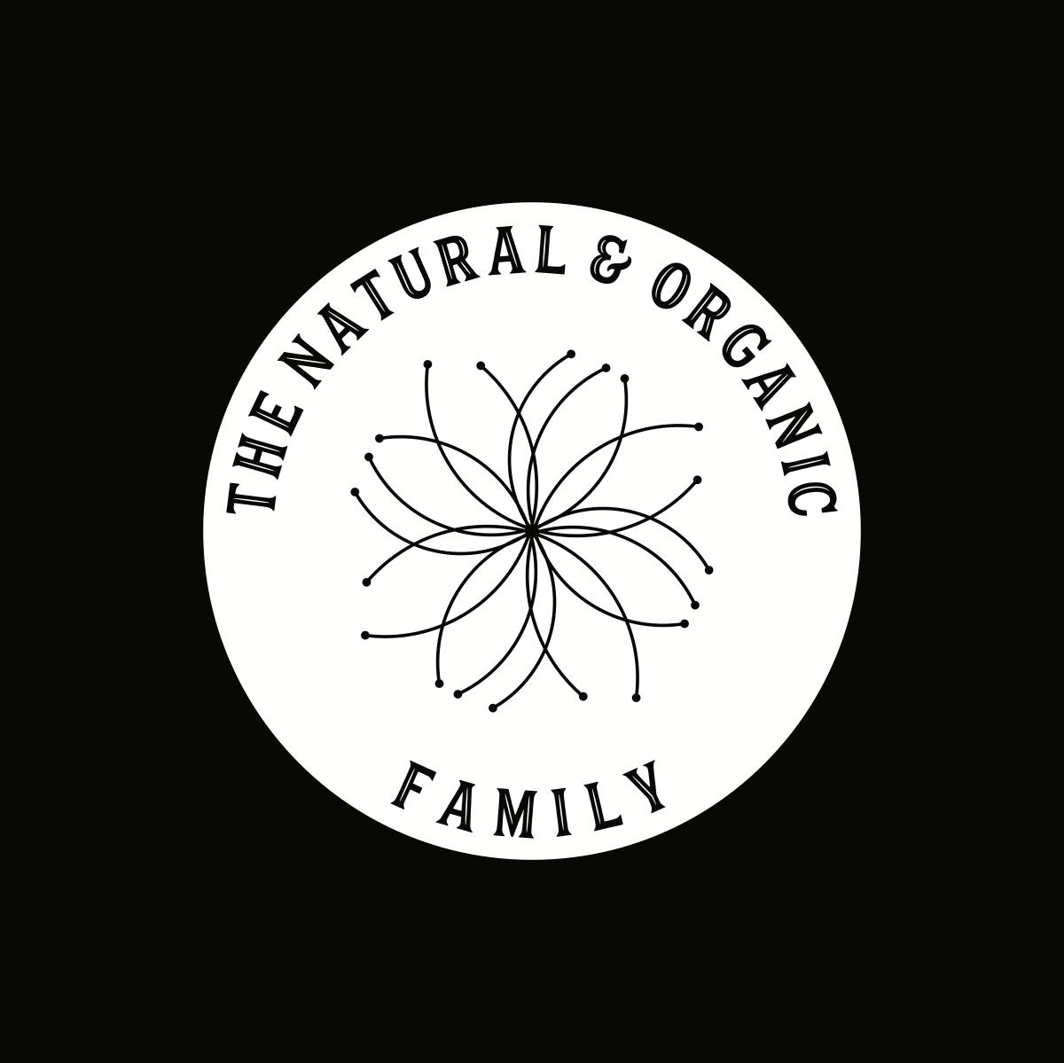 Logo for an organic family brand