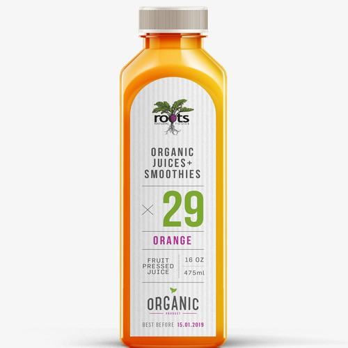 Roots organic juice
