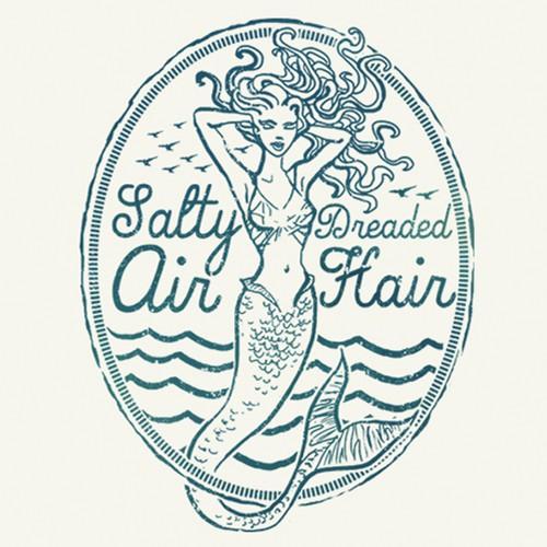 T-shirt design for surf-wear brand
