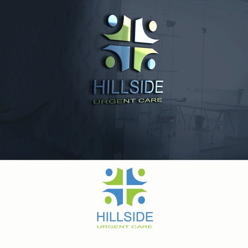Bold logo concept for hillside urgent care