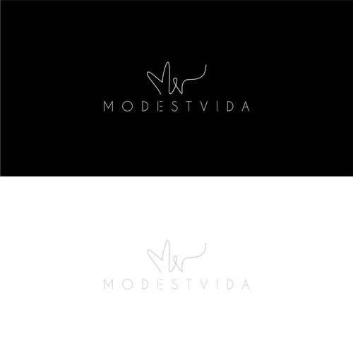 Logo Design Modest Vida
