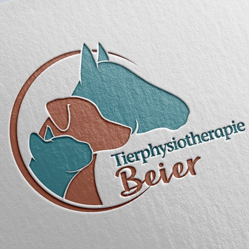 Logo design for an animal physiotherapy