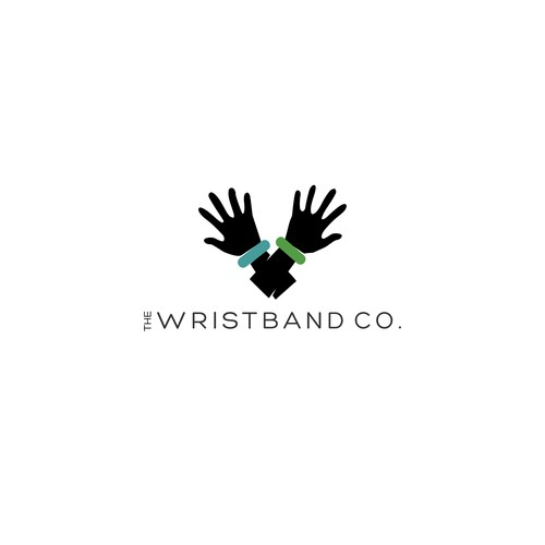 Logo concept for a company that sells wrist bands