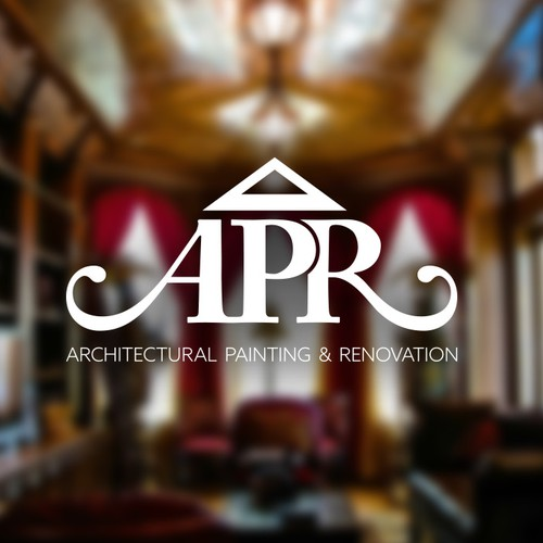 Modern logo that encapsulates elegant home decoration and architectural design.
