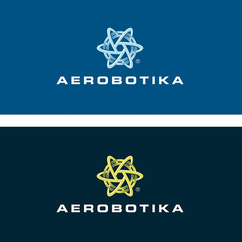 Logo design for high tech autonomous drone company