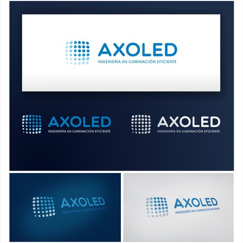 Restyling wanted for AXOLED, the leading lighting efficient company!!
